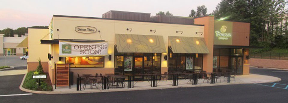 Panera bread exterior projects smartdesign - Restaurant exterior color schemes ...